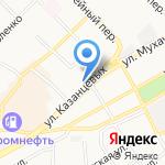 АвтоАзия на карте Бийска