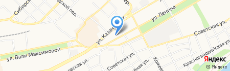 Есэндвич.ру на карте Бийска