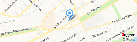 Азбука Тентов компания по производству термоматов на карте Бийска