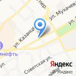 БФК-Новосибирск на карте Бийска