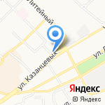 Пивной Дом Бочкари на карте Бийска