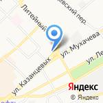 Сибирь-Мониторинг на карте Бийска