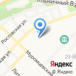 МФ РОСТ на карте Бийска
