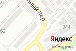 Схема проезда до компании Буква закона в Бийске
