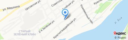 Милксервис на карте Бийска