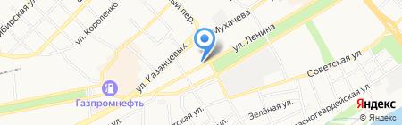 БЛИНМАСТЕР на карте Бийска