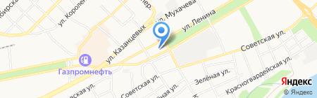 Эстима на карте Бийска
