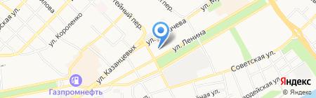 Почтовое отделение №6 на карте Бийска