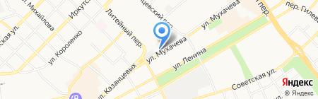 Мотортехно на карте Бийска