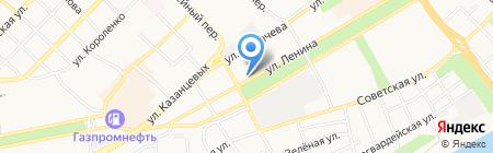 Магазин Горящих Путевок на карте Бийска