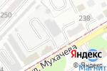 Схема проезда до компании Авангард-Авто в Бийске
