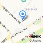 Русич на карте Бийска