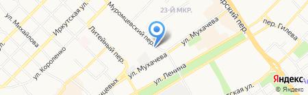 Мария-Ра на карте Бийска