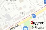 Схема проезда до компании Центральная в Бийске
