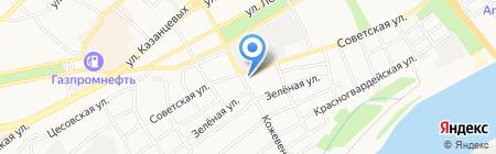 АЗС EVO на карте Бийска