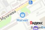 Схема проезда до компании МАГНИТ в Бийске