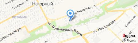 Водоканал г. Бийска на карте Бийска