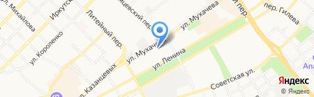 Магазин нижнего белья на карте Бийска