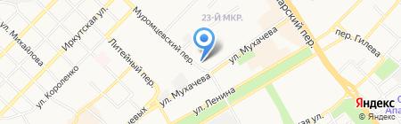 Муром на карте Бийска