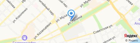 Гэллэри Сервис на карте Бийска