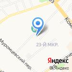 Православный Душепопечительский Центр на карте Бийска