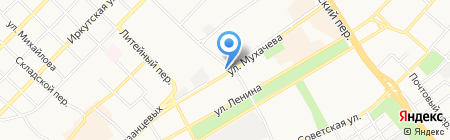 Ателье на карте Бийска