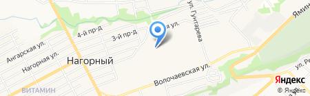 Автомиг на карте Бийска