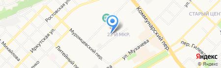 Кардис на карте Бийска