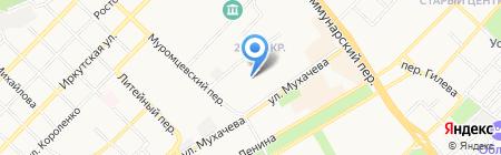 Прима-Дент на карте Бийска