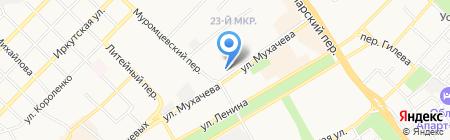 Лингва на карте Бийска