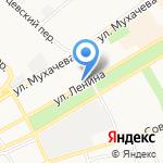 LeKa на карте Бийска