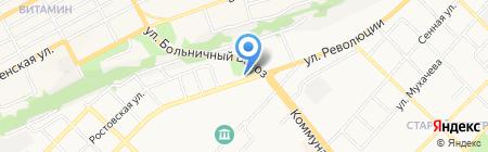 ПромКомплектация на карте Бийска
