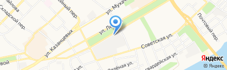 Центр бухгалтерского обслуживания на карте Бийска