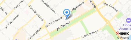 Дачник на карте Бийска