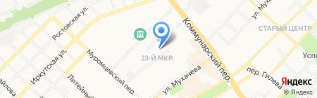 Сектор административных органов Правового Управления Администрации г. Бийска на карте Бийска