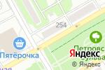 Схема проезда до компании Евросеть в Бийске