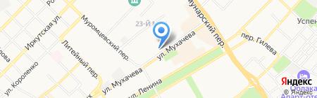 SMART на карте Бийска