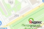 Схема проезда до компании Вкуснов в Бийске