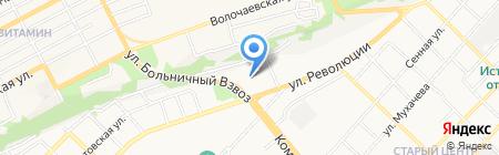 Садовый центр на карте Бийска