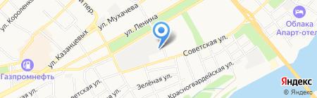 ЛЕСТОРГ на карте Бийска