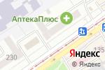 Схема проезда до компании Юнако Сервис центр в Бийске