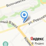 Барнаулгоргаз на карте Бийска