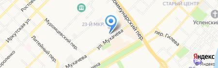 Людмила на карте Бийска