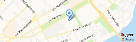 Детский сад №4 на карте Бийска