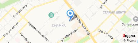 POLO на карте Бийска