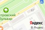 Схема проезда до компании Сапфир в Бийске