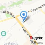 Сибирский центр безопасности труда на карте Бийска