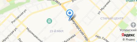 Комплексный центр социального обслуживания населения г. Бийска на карте Бийска