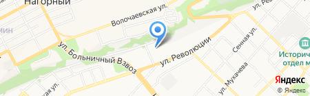 АВИС на карте Бийска