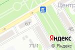 Схема проезда до компании ТРАНСРЕСУРС в Бийске